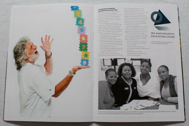 Design Ardour | Art & Design by Robyn Oosthuysen | Publishing | Branding | Rhodes | Education Brochure
