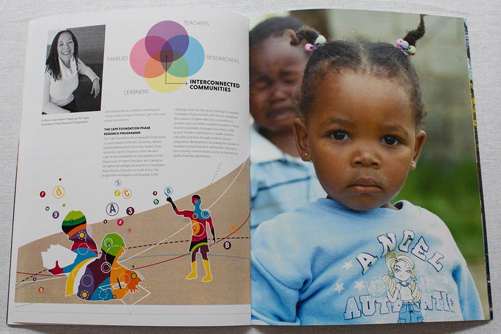 Design Ardour   Art & Design by Robyn Oosthuysen   Publishing   Branding   Rhodes   Education Brochure