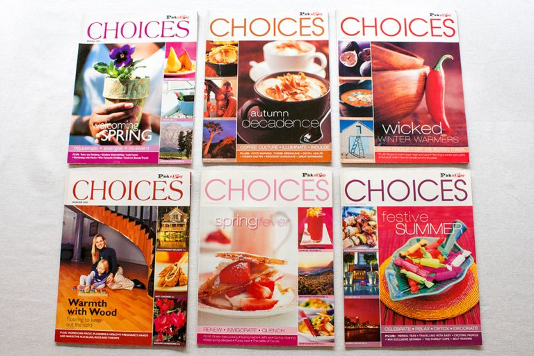 Design Ardour | Art & Design by Robyn Oosthuysen | Publishing | Magazine | Choices | Pick n Pay