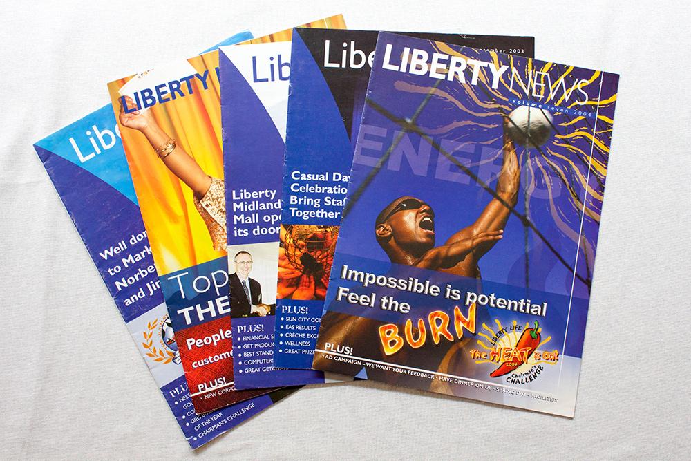 Design Ardour | Art & Design by Robyn Oosthuysen | Publishing | Tabloid | Inhouse | Liberty Life | Liberty