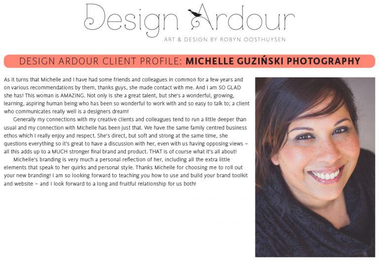 Design Ardour | Art & Design by Robyn Oosthuysen | Logo and branding | Photography | East London |#photography #DesignArdour #RobynOosthuysen #EastLondon #MichelleGuzinski #Branding #Logo #WeddingPhotography