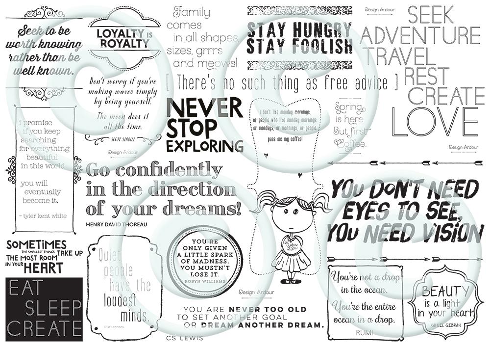 Design Ardour | Art & Design by Robyn Oosthuysen | Graphic Design | Design | Printed Paper #paper #giftwrapping #wrappingpaper #DesignArdour #RobynOosthuysen #branding #design #quotes www.designardour.com